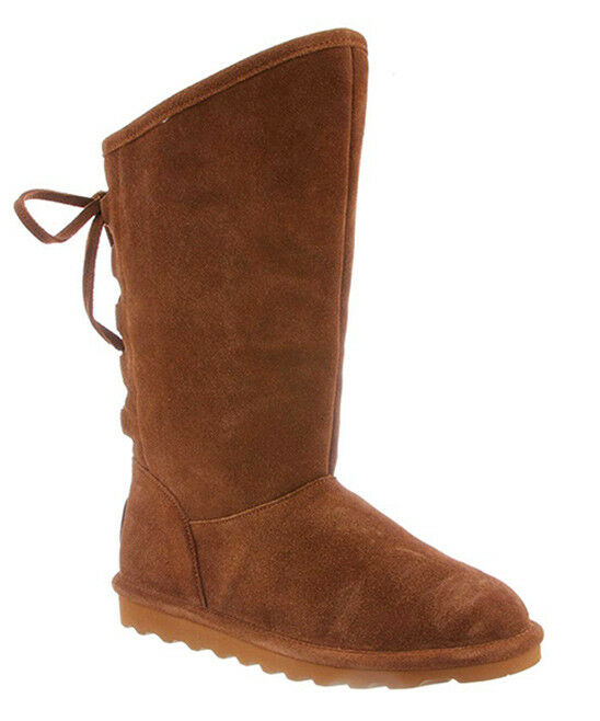 NEW WOMEN 2019 BEARPAW SUEDE BOOTS PHYLLY HICKORY II NEVER WET  AUTHENTIC 1955