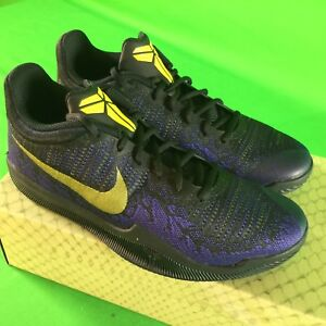 7039eaf8b7a8 Nike Kobe Bryant Mamba Rage Men Sz 8.5 Basketball Shoes Lakers ...