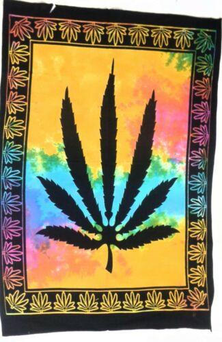 Tie Dye Wall Tapestry Multi Color Poster Indian Mandala Hanging Decor Yoga Mat