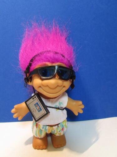 """NEW IN ORIGINAL WRAPPER Last Of Color 5/"""" Russ Troll Doll IPOD BOY WALKMAN"""