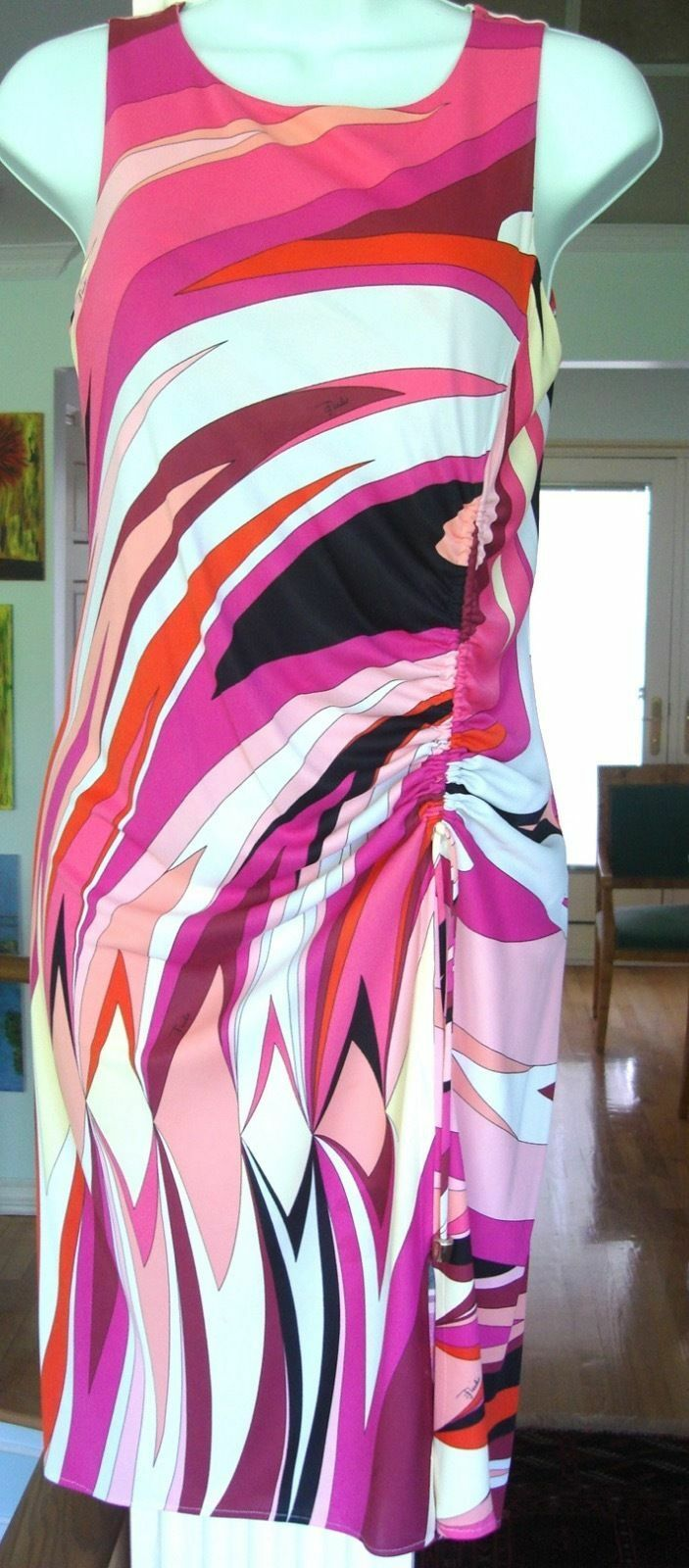 Emilio Pucci Dress, I40 US 2 4,NWT, Saks