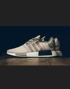 Adidas-NMD-R1-Tan-Cream-White-Black-3M-Nomad-Runner-Originals-S76848-RARE