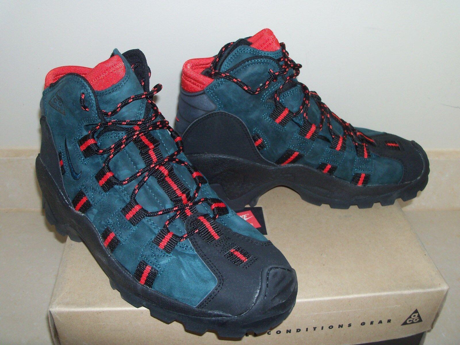1995 OG Nike AIR RATIC vintage ACG Sneaker NEW Sz: 9 Blk/Night Shade