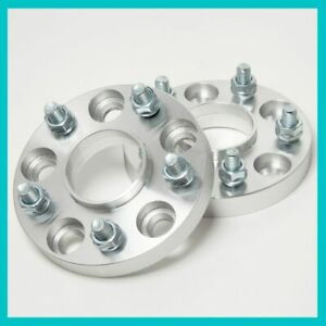 2 Hub Centric Wheel Spacers Adaptor 25mm 5x114.3 4.5 67.1 | 67mm fit 12x1.5