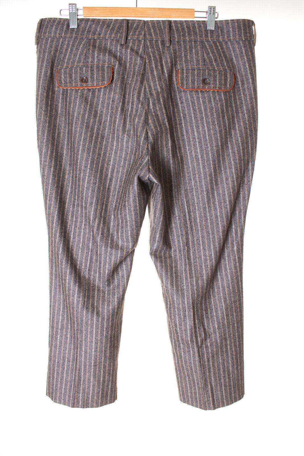 Bogner Pantaloni 3 4 trousers trousers trousers LANA PELLE DONNA TG. de 44 (US 14 Long) Multicolore 350b01