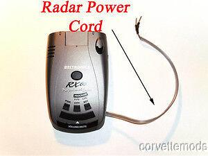 """C7 Corvette Stingray//Z06//Grand Sport 2014 Radar Detector Power Cord /""""EasyPower/"""""""