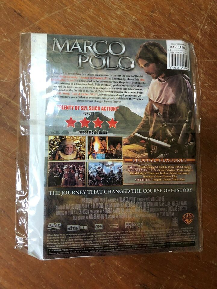 Marco polo , DVD, eventyr
