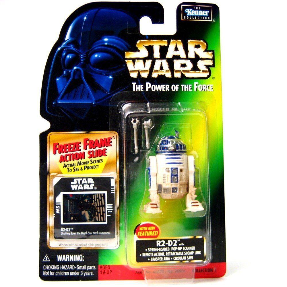 Star wars potf2 freeze frame r2 - d2 mit seltenen imperial dia neue c - 8 - card versiegelt