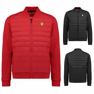c67706c9 2018 Scuderia Ferrari Mens Bomber Jacket Coat Sizes XS-XXL Official ...