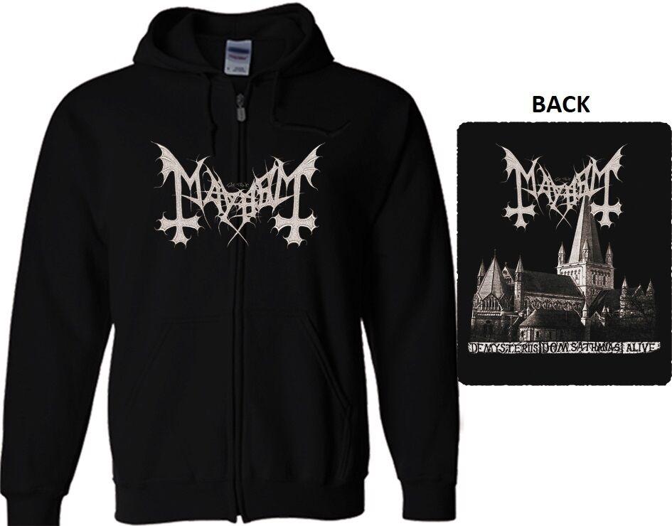 MAYHEM M-L-XL-XXL NEW HOODIE SWEATSHIRT immortal impalednazarene behemoth marduk