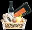 miniature 1 - Strenna di Natale SILVER BOX 2 - Cesto Natalizio Gastronomico salumi formaggi