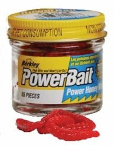 Berkley Power Bait Garlic Honey Worm künstliche Bienenmaden verschiedene Farben