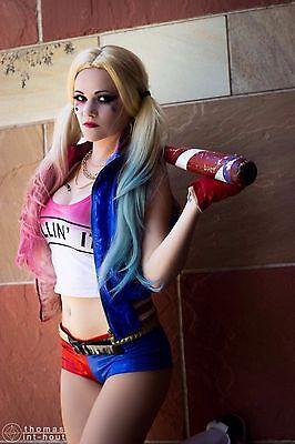 Harley Quinn Velvet shorts Suicide Squad Cosplay Hot Pants Halloween shorts Cheeky Velvet Shorts. Blue and Red Velvet Shorts