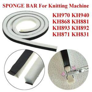 2x-100cm-Needles-Sponge-Bar-For-Brother-Knitting-Machine