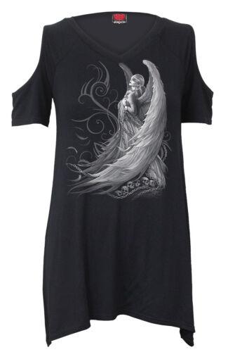 SPIRAL Direct Captive SPIRITI-Cold Shoulder Goth INFERIORE SUPERIORE/Angelo/Fata/Goth