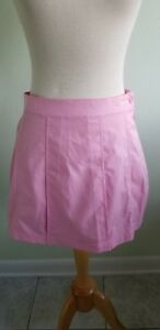 Image Is Loading Tennis Skirt Reebok Classic Pink No Panties Polyester