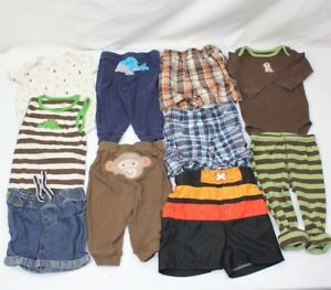 b91b2e055 Carter's Baby Boy Clothes Size 9m HUGE LOT 9 months 10 PIECES Dogs ...