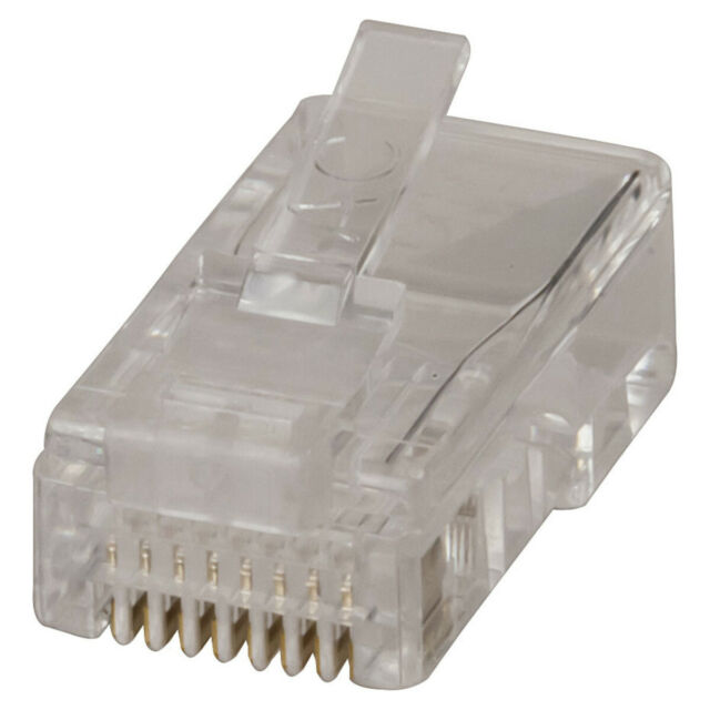 RJ45 8P/8C For Stranded Cable - Pk.10