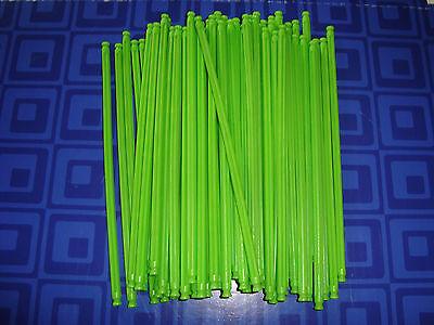 "50 Neon Green 7 1//2/"" Flexi Rods Flexible 7.5/"" Screamin... KNEX BUILDING TOY LOT"
