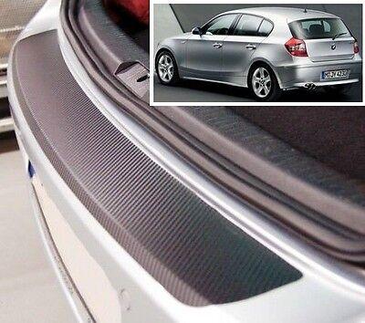 BMW 1 series E87 - Carbon Style rear Bumper Protector