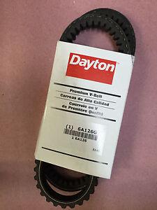 Dayton-6A126G-V-Belt-13-32-034-x-49-034-Premium-V-Belt-Cogged-BX46-NEW