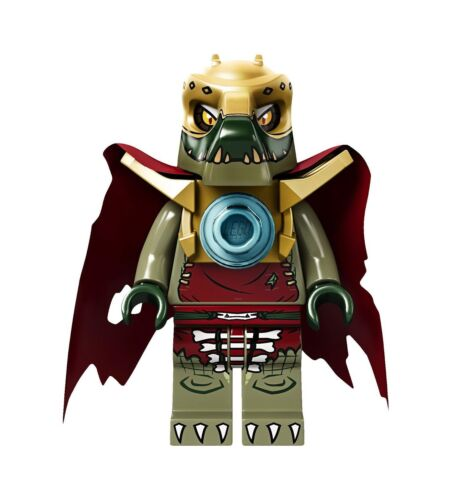 LEGO Legends of Chima 70006 Cragger/'s Command Ship Crominus Minifigure