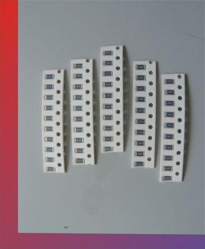 50 x SMD LED Widerstände Vorwiderstand resistor BA 1206 verschiedene Werte