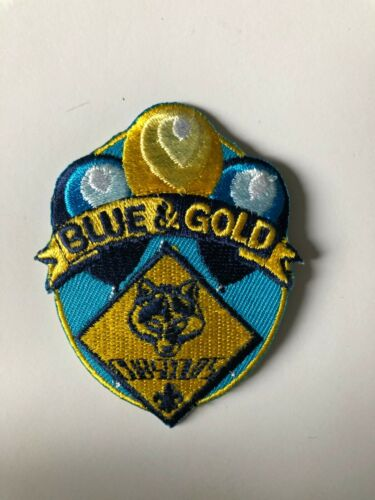 Blue and Gold Cub Scouts Embroidered Patch BSA