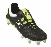 Clearance Line- Gilbert Rugby- Jink Vx1 Rugby Boots- Black Lime Size 6- 15
