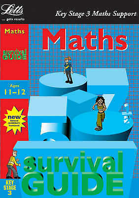 1 of 1 - Key Stage 3 Survival Guide: Maths Age 11-12 (Key Stage 3 survival guides),GOOD B