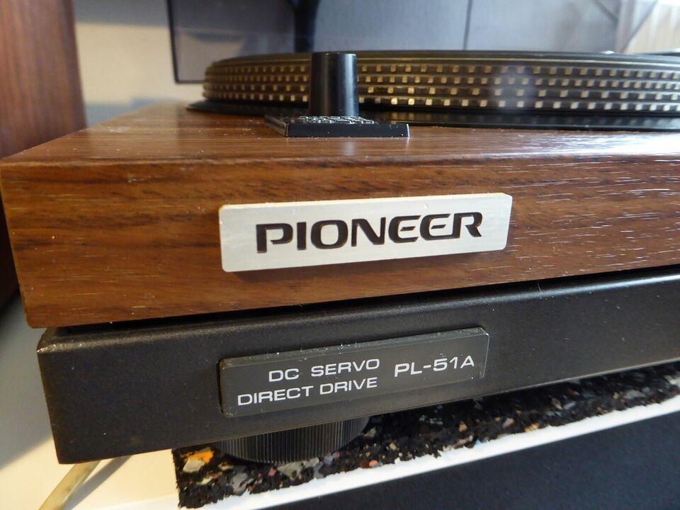 Pladespiller, Pioneer, Pl-51A