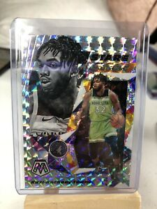 2019-20-Karl-Anthony-Towns-Panini-Mosaic-Stare-Masters-Silver-Prizm-Insert