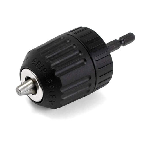 0.8-10mm 3//8 inch 24UNF Keyless Drill Chuck Converter Shankless Chuck New