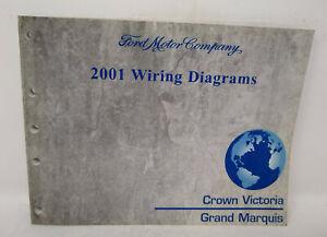 OEM 2001 Ford Crown Victoria Mercury Grand Marquis Wiring ...