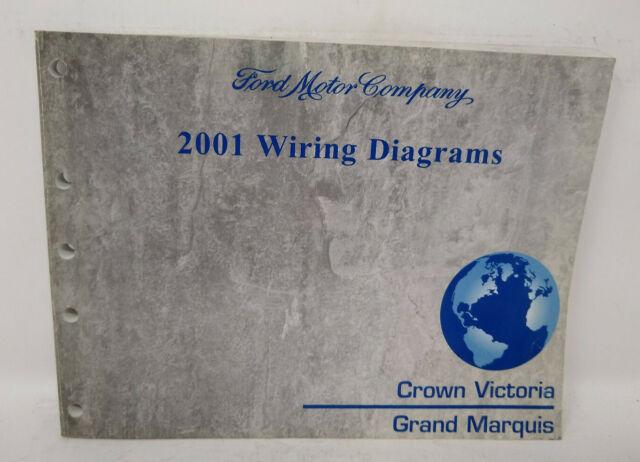 Oem 2001 Ford Crown Victoria Mercury Grand Marquis Wiring