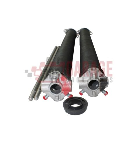 """Pair of .243 Garage Door Torsion Springs Any Length Up to 43/"""" With Winding Bars"""
