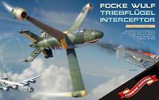 MiniArt 40002 - 1/35 Focke Wulf Triebflugel Interceptor 1944 Concept Model Kit