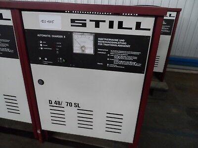 Batterieladegerät-still-d48 70sl-wie Steht Feine Verarbeitung Gabelstapler Baugewerbe