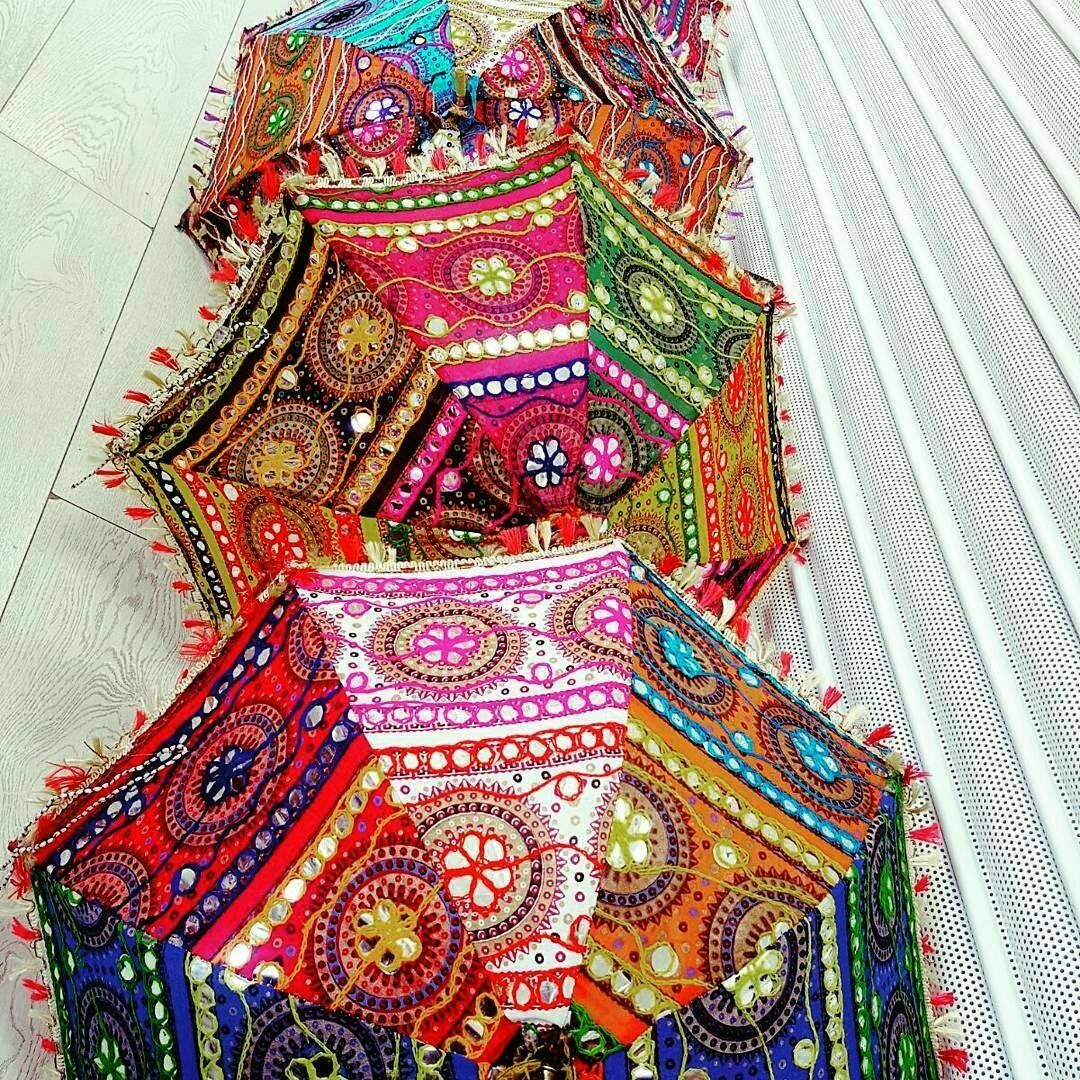 10-Pc Wholesale -Lot Parasol Indian Wedding Bridal Shower New Sun Shade Umbrella