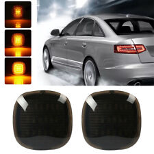 2x Skoda Fabia 6Y5 18-LED Rear Indicator Repeater Turn Signal Light Lamp Bulbs
