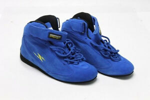 f80dd6a55407ee IMPACT Racing SHOES Mens Team High Top BLUE Simpson SFI 3.3 5 Rated ...