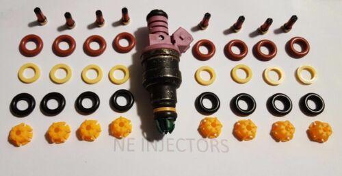 BMW V8 Fuel Injector Service Repair Rebuild O-ring Kit Pintle Filter 93-98