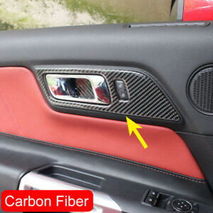 Image Is Loading Interior Door Handle Overlay For Ford Mustang 2015