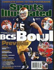 Notre Dame Manti Te'o 2012 Sports Illustrated BCS Bowl Preview No Label