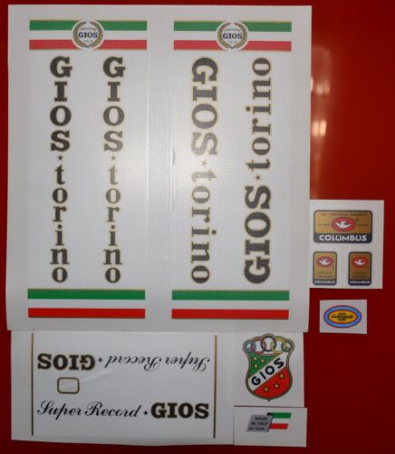 GIOS TORINO SUPER Record full set decals