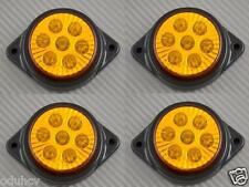 4x 7 LED 12V Indicatore Laterale Color ambra Luci auto SUV Camper 4x4 Pickup