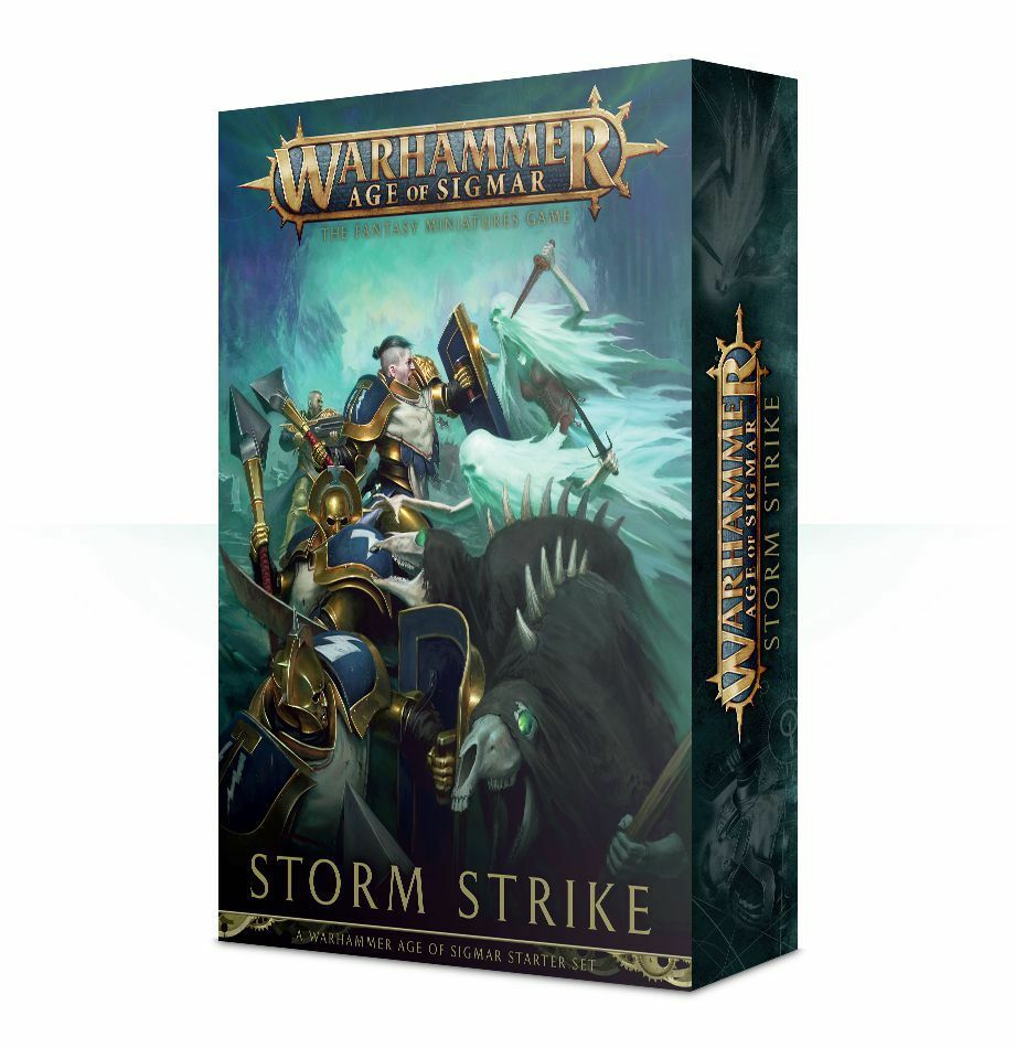 AGE OF SIGMAR stormstrike  tedesco  GAMES WORKSHOP WARHAMMER AGE OF SIGMAR AOS