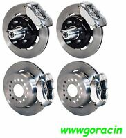 Wilwood Disc Brake Kit,1955-1957 Chevy,12 Drilled Rotors,polished Calipers,210