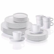 Arzberg Cucina Weiss 30-tlg. Speiseservice und Kaffeeservice Speisegeschirr NEU