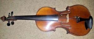 Belle Vintage Antique Ancien Violon Taille 7/8 Frederick Geisler 1909-afficher Le Titre D'origine